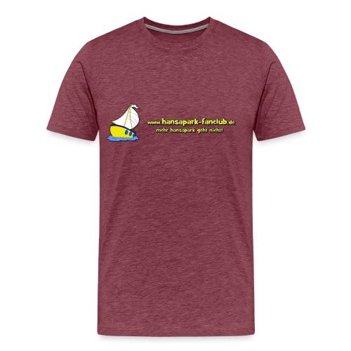 Logo Länglich png - Männer Premium T-Shirt