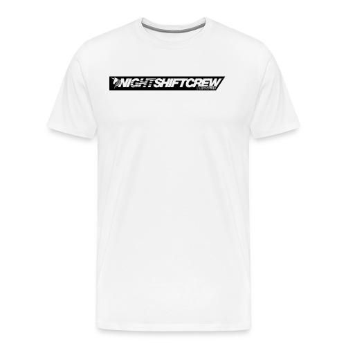 nsc_lic_contourNOIR - T-shirt Premium Homme