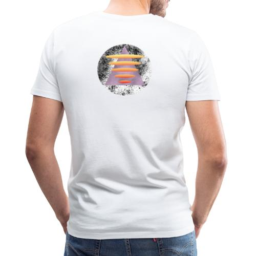 Triangle Gate - Premium T-skjorte for menn