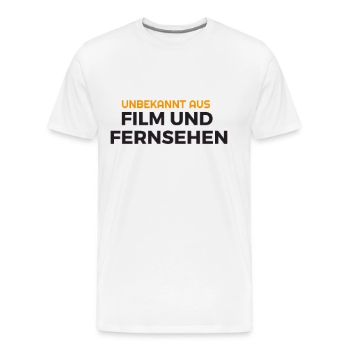 Unbekannt aus Film und Fernsehen gif - Männer Premium T-Shirt