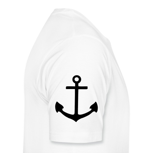 2000px Anchor pictogram svg png - Men's Premium T-Shirt