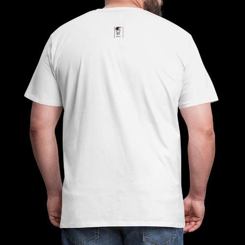 black skull - T-shirt Premium Homme