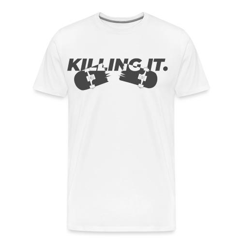 KILLINGIT (White shirt) - Maglietta Premium da uomo