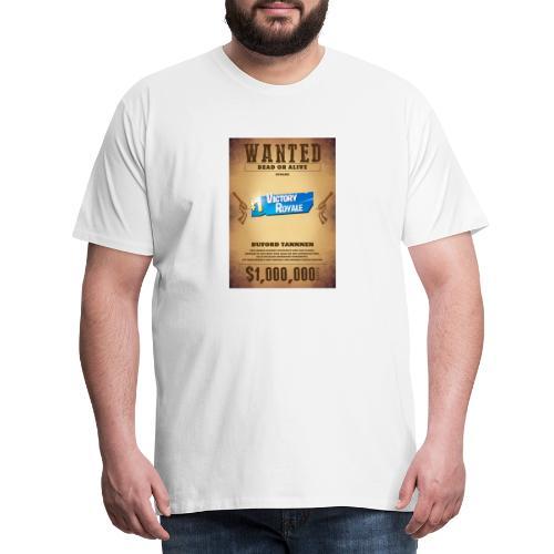 Man wanted - Men's Premium T-Shirt