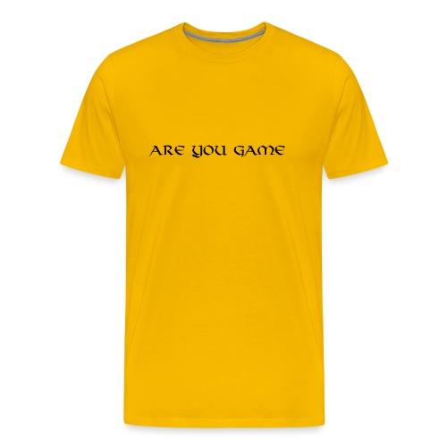 Slogan png - Herre premium T-shirt