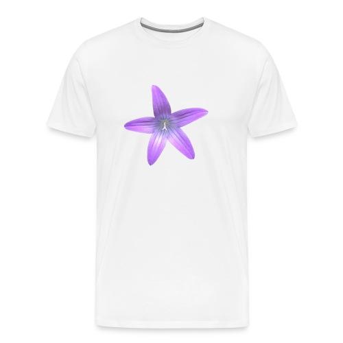Purple flower - Camiseta premium hombre