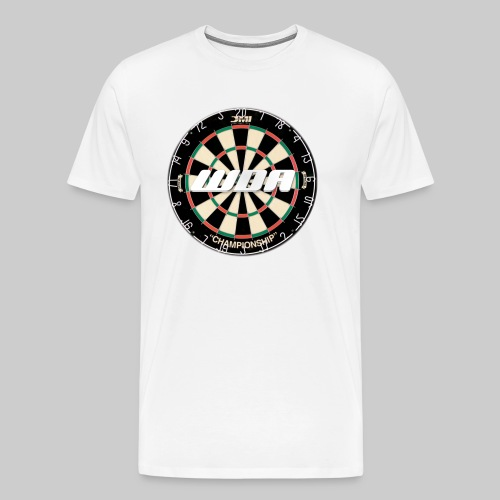 wda dartboard logo - Men's Premium T-Shirt