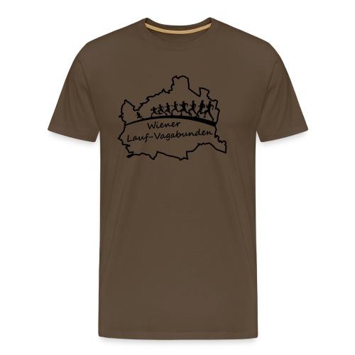 Laufvagabunden T Shirt - Männer Premium T-Shirt