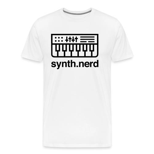 Synth Nerd - Men's Premium T-Shirt