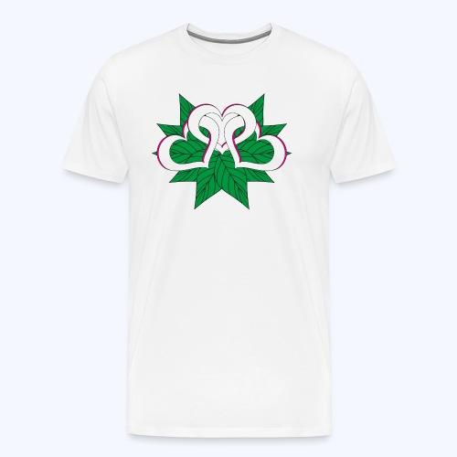 Herzblatt - Männer Premium T-Shirt