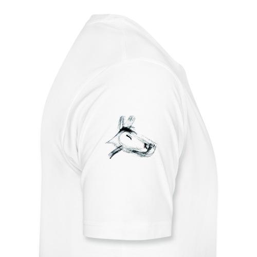 hundshwarz.png - Männer Premium T-Shirt
