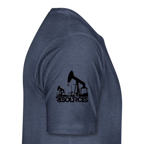 App Icon randlos schwarz - Männer Premium T-Shirt