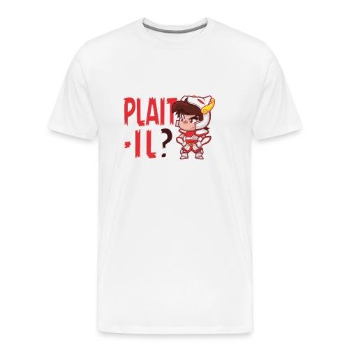 Seyar Plaît il rouge - T-shirt Premium Homme