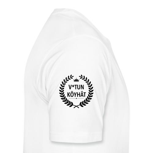 vitun köyhät - Miesten premium t-paita