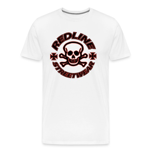 redline streetwear logo2 1 - Premium-T-shirt herr