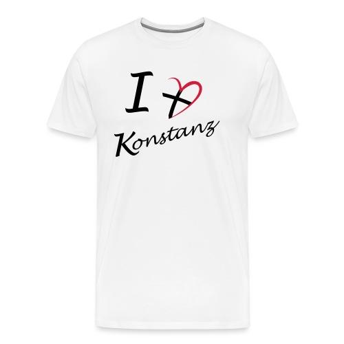Konstanz Liebe - Männer Premium T-Shirt