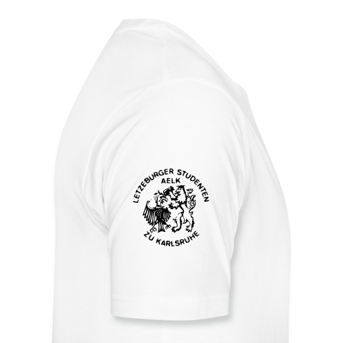 AELK Logo mat Schreft - Männer Premium T-Shirt