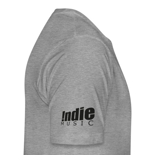 Indie Music logo black - Men's Premium T-Shirt