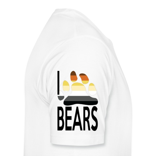 I love bears - T-shirt Premium Homme