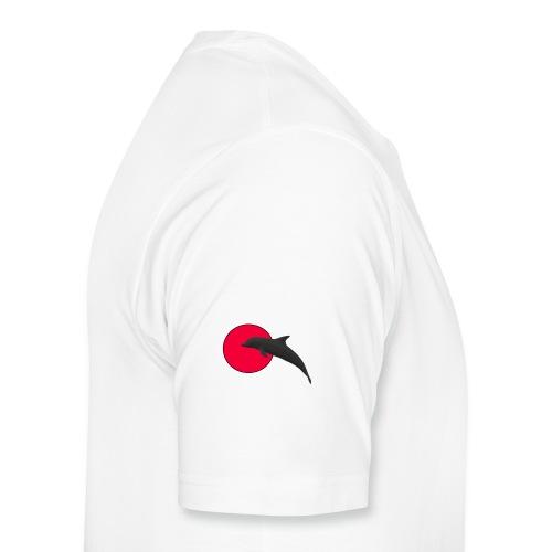 Silhouette Delfino3 - Maglietta Premium da uomo