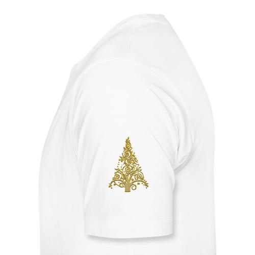 sapin gold (2) - T-shirt Premium Homme