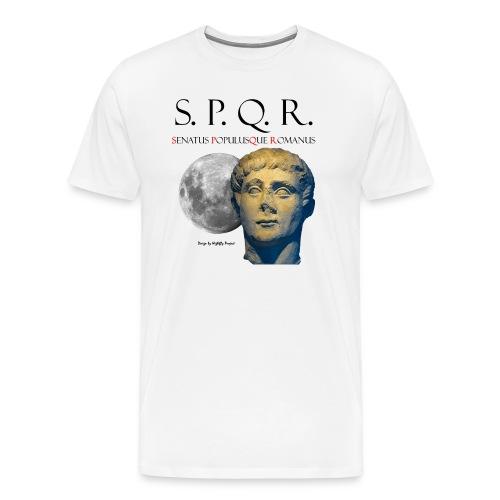 Männer Kontrast T-Shirt w/sch Porto Pigontio - Männer Premium T-Shirt