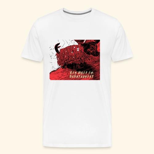Der Wolf im Schafspelz - Männer Premium T-Shirt