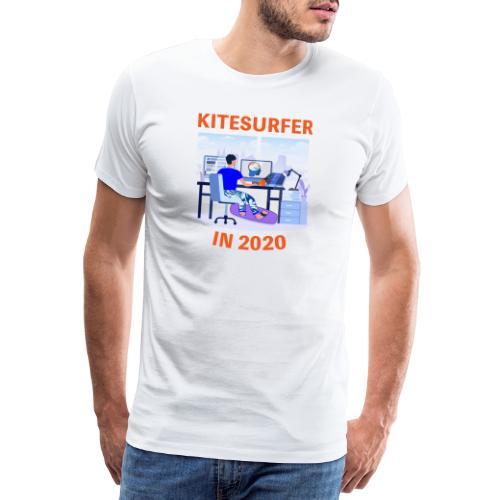 Kitesurfer in 2020 - Men's Premium T-Shirt