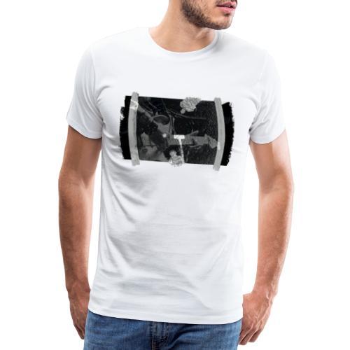 Men at Work (with black PS logo) - Herre premium T-shirt