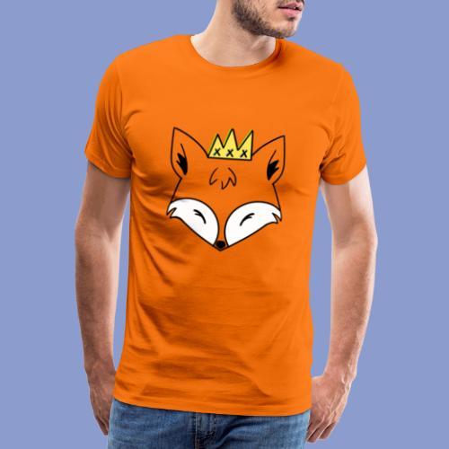 king fox - Maglietta Premium da uomo