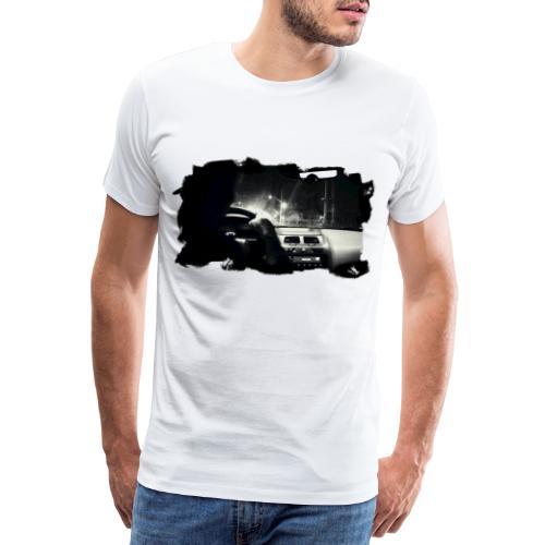Driving at Night (with black PS logo) - Herre premium T-shirt
