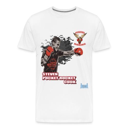 Steve Pocket Rocket Cook - Men's Premium T-Shirt
