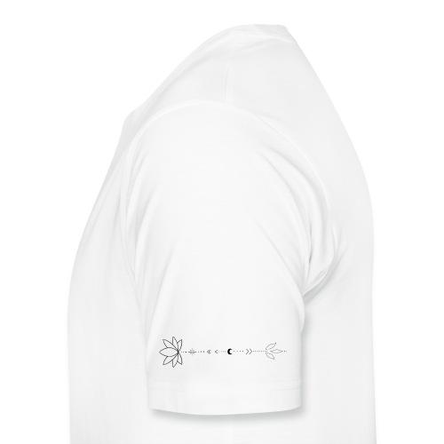 Blumenranke - Männer Premium T-Shirt