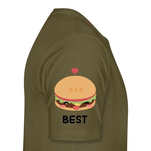 hamburger - Maglietta Premium da uomo