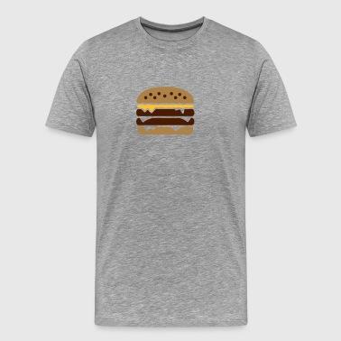 Burger - Männer Premium T-Shirt