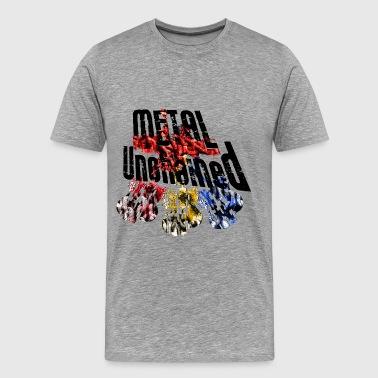 Metal Unchained Gitarren - Männer Premium T-Shirt