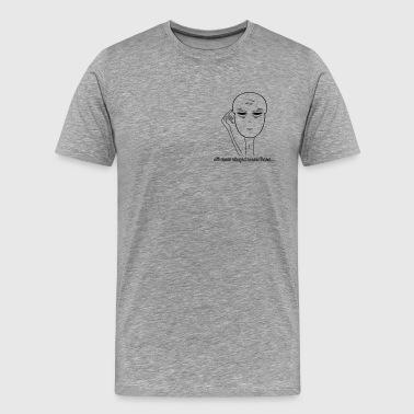 all stupid - Männer Premium T-Shirt