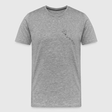 Drachen steigen - Männer Premium T-Shirt