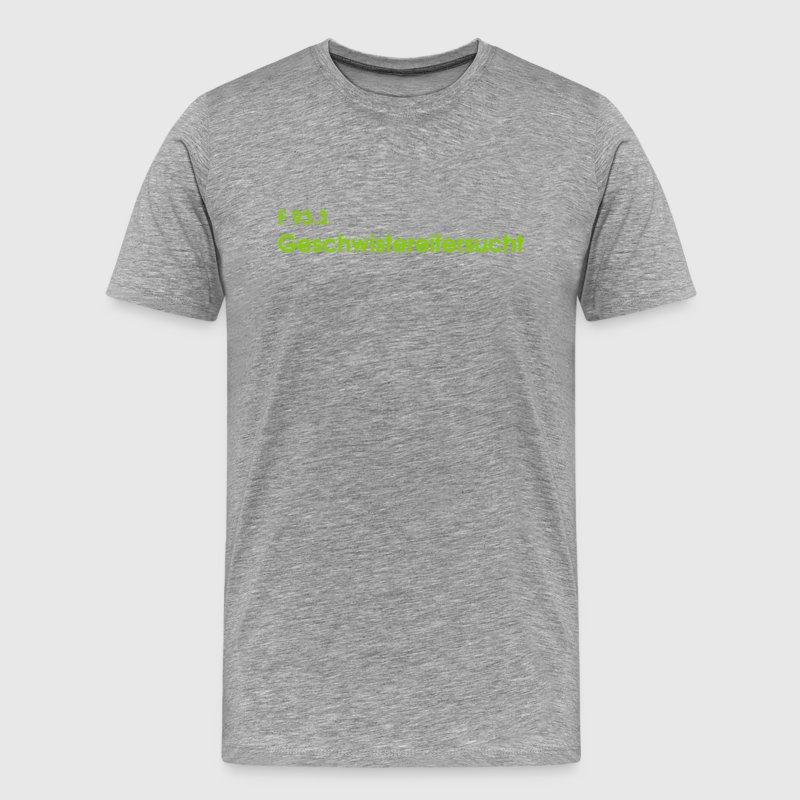 ICD-10 F 93.3 Geschwistereifersucht - Männer Premium T-Shirt