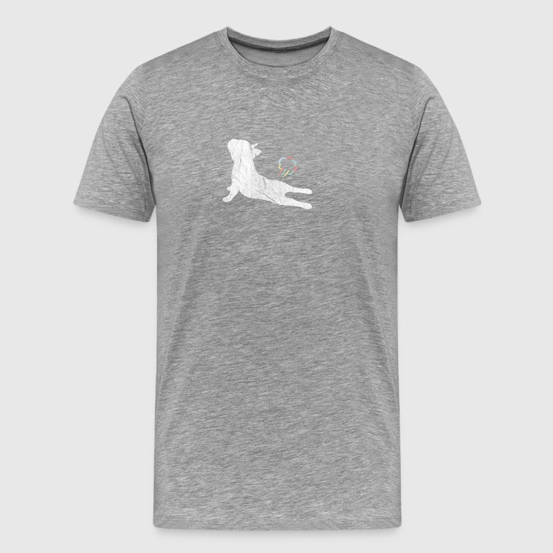 French Bulldog Pupst Geschenk Franz Buldogge - Männer Premium T-Shirt