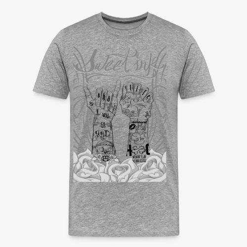 sweet ink - Camiseta premium hombre