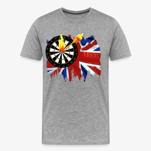 Burning Dart - Männer Premium T-Shirt