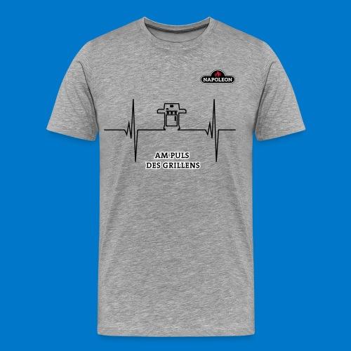 AM PULS DES GRILL LENS (Rogue) - Männer Premium T-Shirt