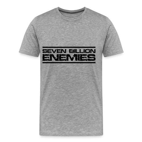 Seven Billion Enemies - NOIR - T-shirt Premium Homme