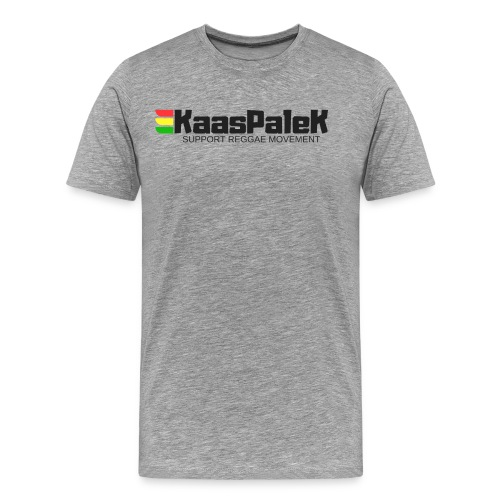 KaasPaleK Support reggae movement - T-shirt Premium Homme