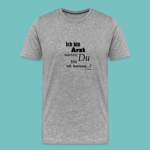 Arzt - Männer Premium T-Shirt