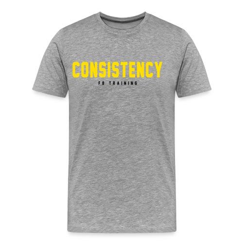 Consistency - Männer Premium T-Shirt
