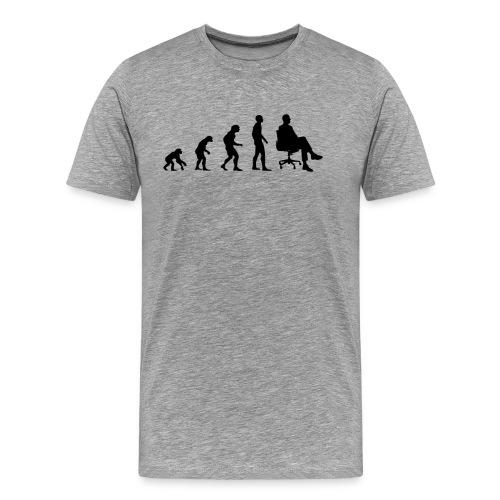 Evolution CEO - Unternehmer, Chef, Schwarz - Männer Premium T-Shirt