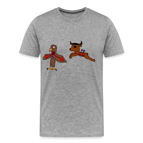 L aigle et le buffle - T-shirt Premium Homme