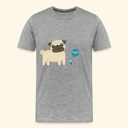 Mr.M THE SMALLEST ONE - Mannen Premium T-shirt